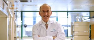 Professor Mike Rubinstein Chairman & Founder in a lab